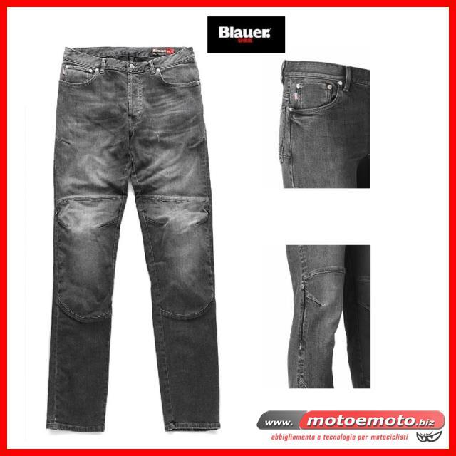 E Tessuto Blauer Abbigliamento » Pantaloni Moto 18wpxUHU